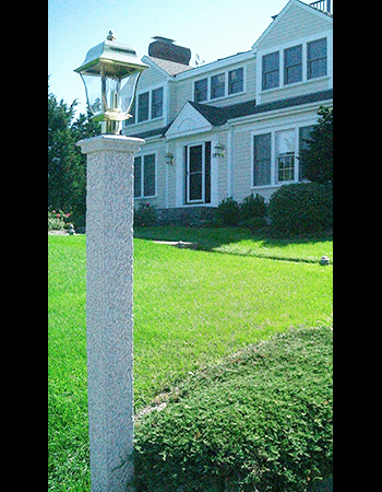 Granite lamp post westwood mills granite lamp post mozeypictures Image collections