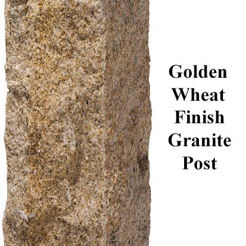 Granite Golden Wheat Rock Four Sides Finish