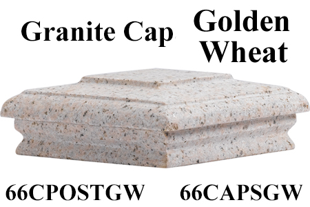 Granite Cap Golden Wheat 66CAPSGW