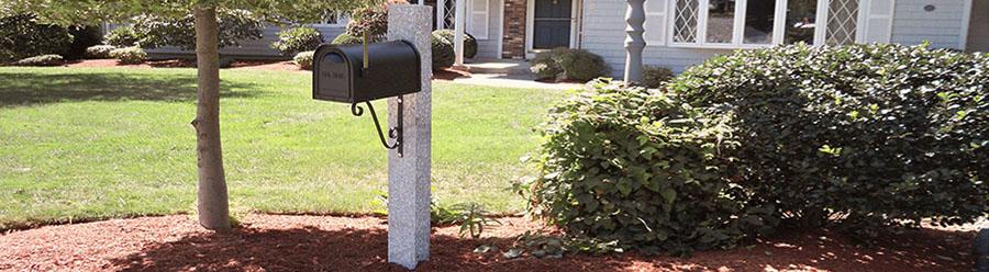 granite mailboxpost gallery