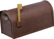 Cast Aluminum Mailbox-COPPER-12MAILBXC