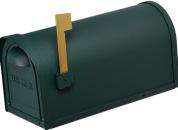 Cast Aluminum Mailbox-GREEN-12MAILBXG