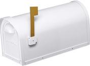 Cast Aluminum Mailbox-WHITE-12MAILBXW