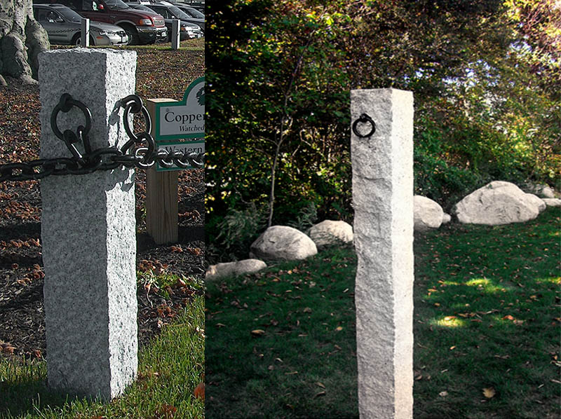 Granite Hitching Posts