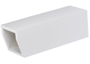 Newspaper Tube WOOD WHITE - WNPH