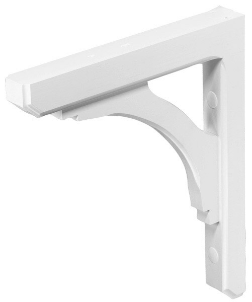Wood Bracket WHITE WMBB