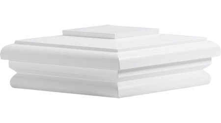 Wood Cap-White Painted-66WDC- 66WDCP