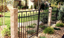 Granite Fence Posts - Golden Wheat