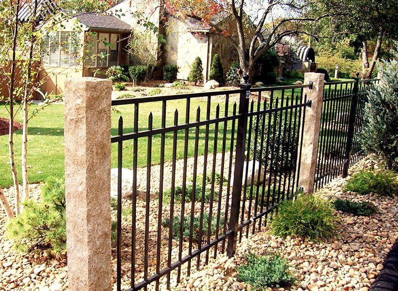 Granite Fence Posts - Golden Wheat