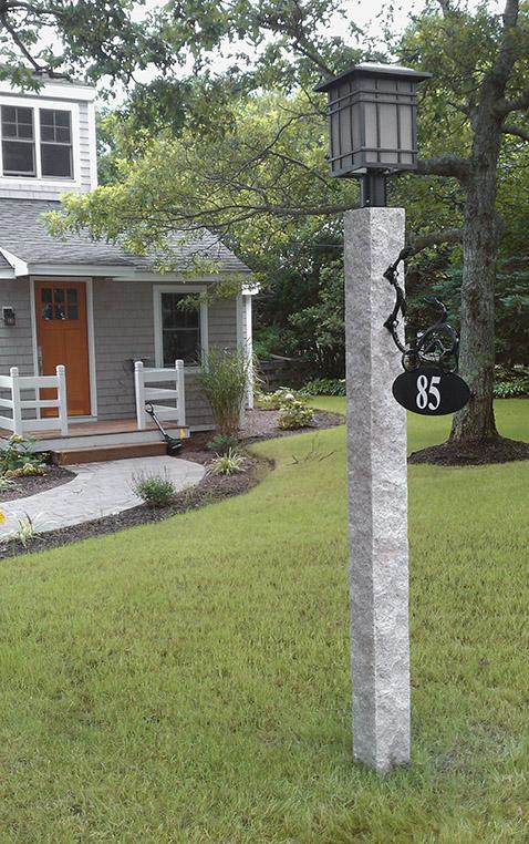 granite-lamp-post-iron-bracket-sign-2