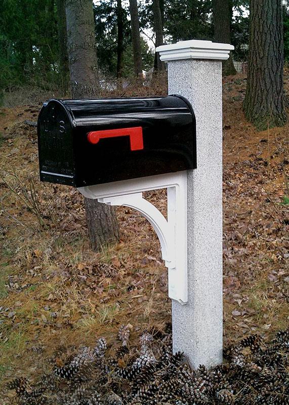 Black-Mailbox-Granite-Post1