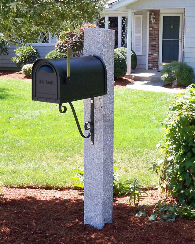 Granite Posts, Mailboxes, Brackets and Accessories
