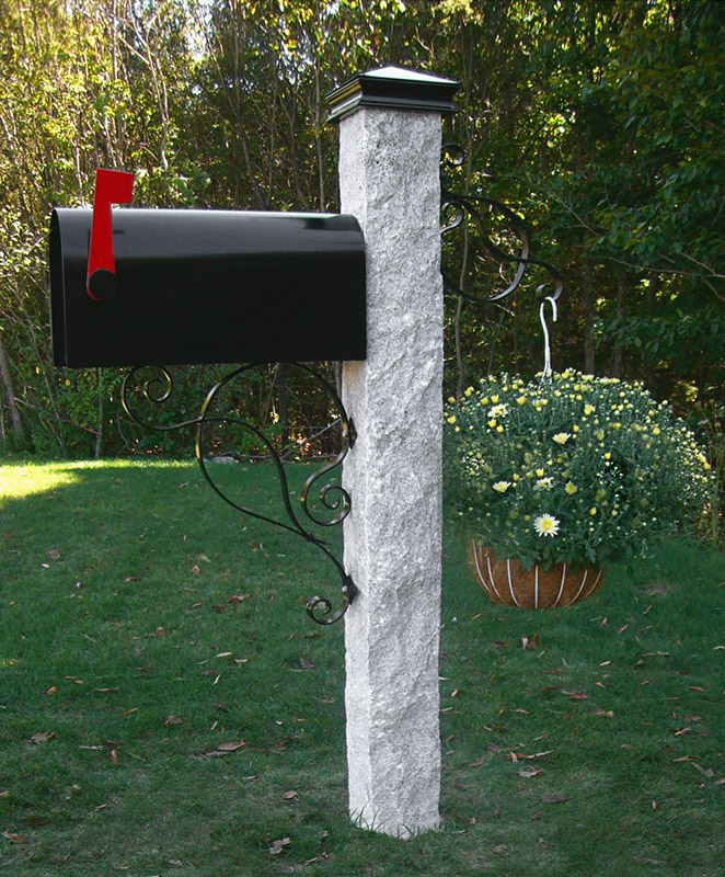 Post: Granite Mailbox Post Gallery